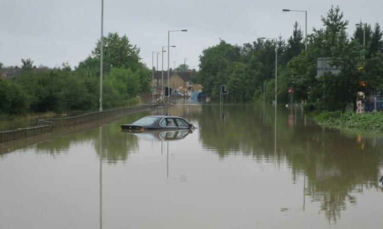 Flash flooding– A Drainage Emergency