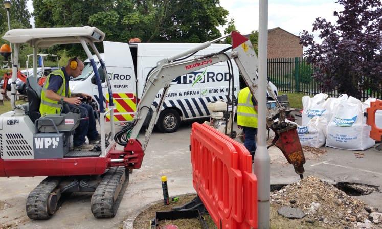 News Metro Rod Solving School Drainage Problems In Newbury