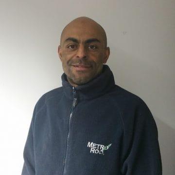 Metro Rod Warrington Team Eddie Brewster