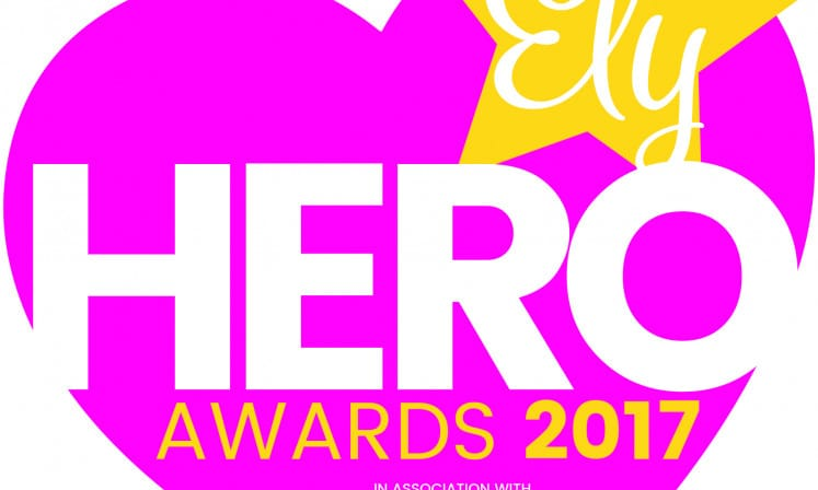 News Ely Hero Awards Logo