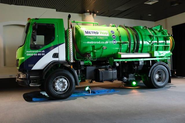 Green Vacuum Tanker