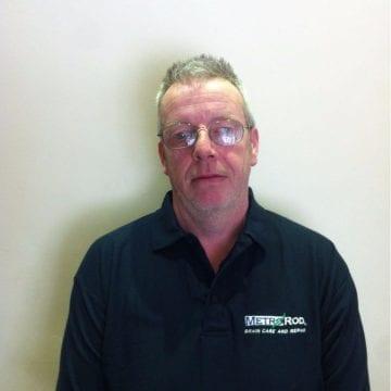 Gerald Mounfield Metro Rod engineer