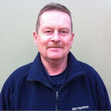 Geoff Millson Metro Rod engineer