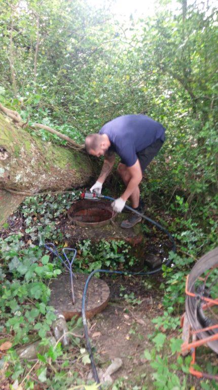 MEtro Rod Swansea Root Infiltration Blocked Drain Pontardawe 2
