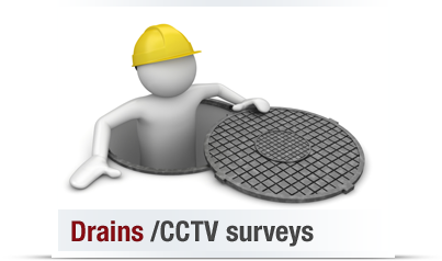 CCTV survey on drains