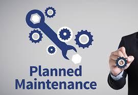 pre- planned maintenance