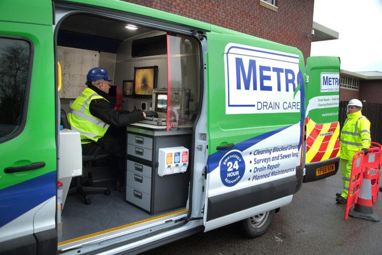 CCTV drain survey Metro Rod Manchester Macclesfield Stockport