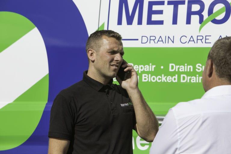 Metro Rod Reading blocked drain and blocked toilet call