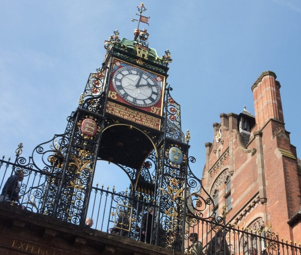 Eastgate Clock - Another tourist attraction of Chester!