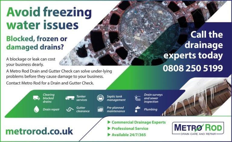 Swindon drain care in freeze conditions