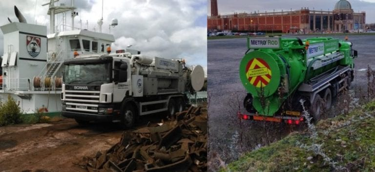 tanker services Metro Rod Manchester and Macclesfield
