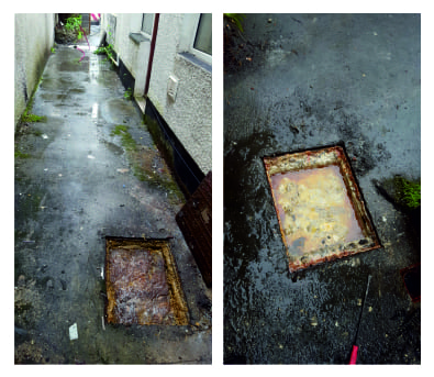 99 PROBLEMS, AND F.O.G IS DEFINITELY ONE  This is how your drains react to constant abuse from Fat, Oil and Grease being poured down them. Blocked drains leading to overflowing manholes... and putrid smells!  Drains need unblocking? Call us 01792 863923 MEtro Rod Swansea