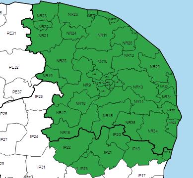 Norwich 2 Map
