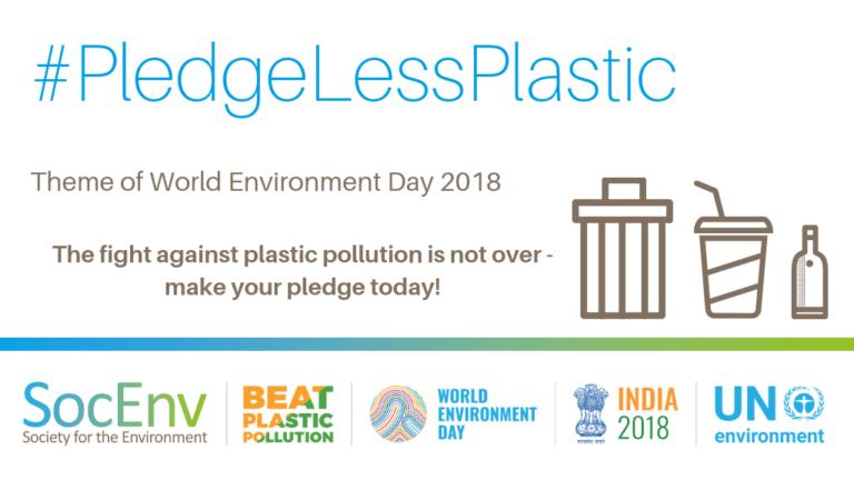 Pledgelessplastic Campaign 2