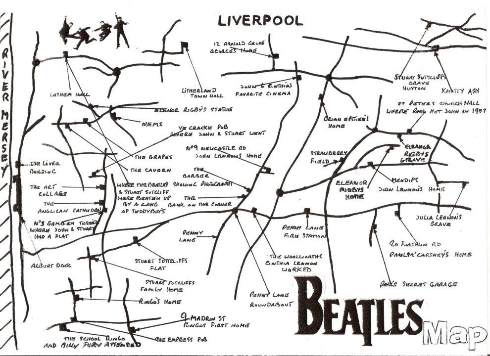 Beatles Map