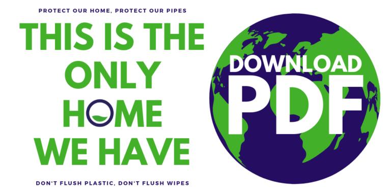 Copy Of Don't Flush Plastic, Don't Flush Wipes