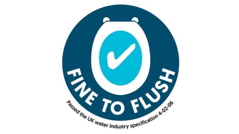 Fine To Flush Logo
