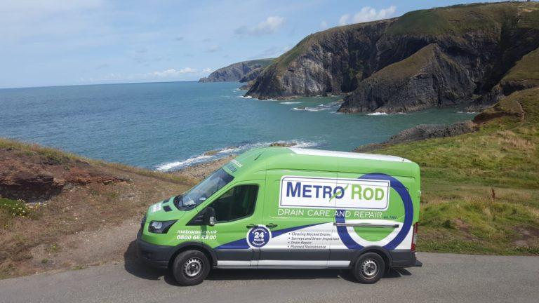 MEtro rod Swansea Van Cardigan Neath Port Talbot Carmarthenshire Pembroke Blocked Drains Drainage Experts Commercial