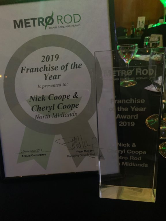 Franchise of the year award