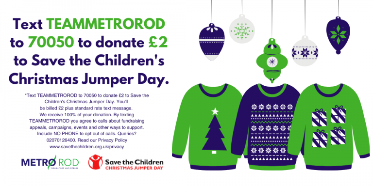Christmas Jumper Day West Yorkshire