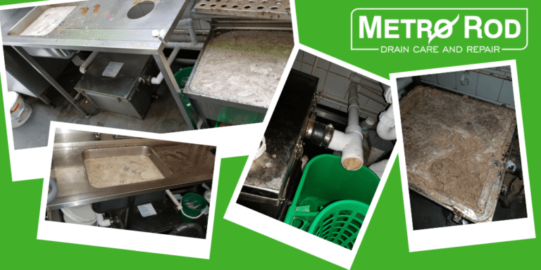 Blocked Grease Traps