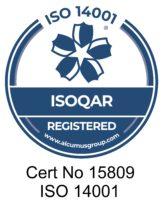 ISOQAR 14001 certificate