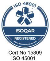 ISOQAR 45001 Certificate