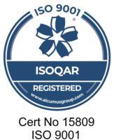 ISOQAR 9001 certificate