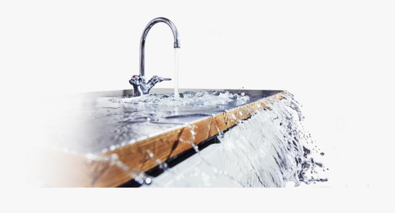427 4276190 Overflowing Sink