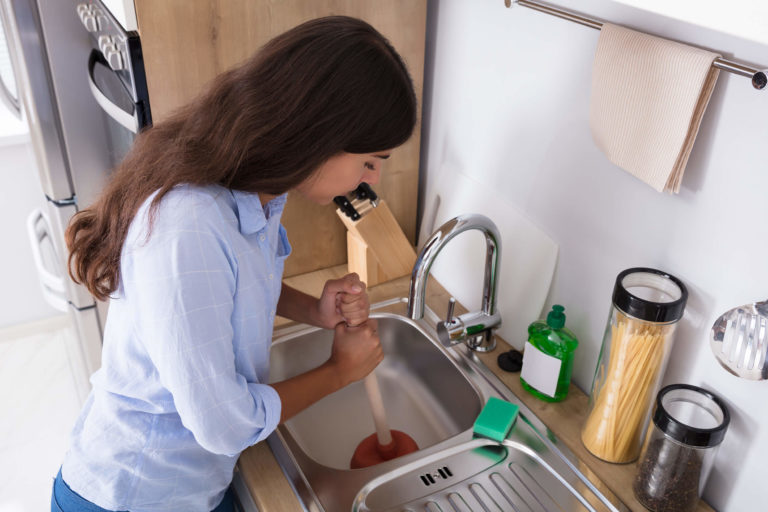 Apollo Home Cannot Fix A Clogged Sink Try This 1