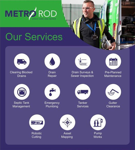 Metro Rod Drainage Services London