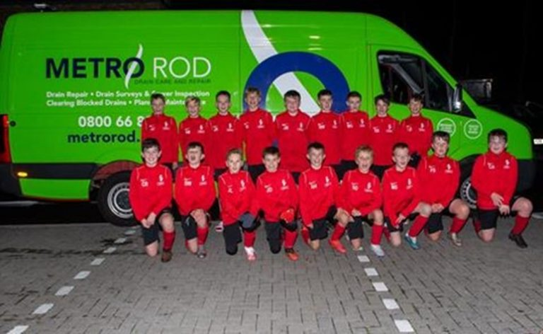 Local youth football team, Troon Thistle.